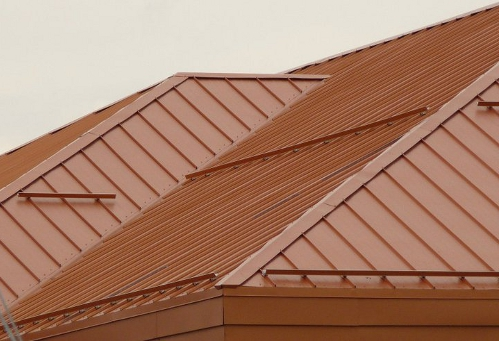 Orange Metal Roof