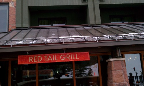 Red Tail Grill Roof