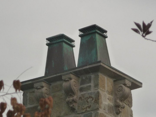 Two Chimney Pots
