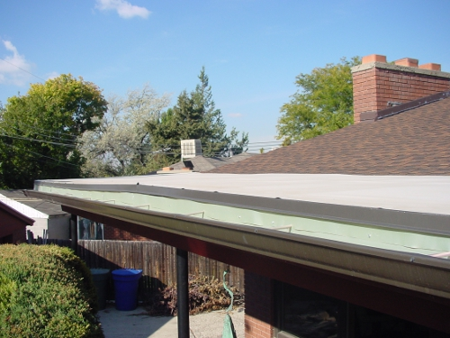 Gutter System with Accessories