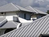 Light Blue Metal Roofs