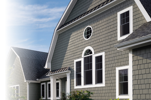 Cement Siding Finish