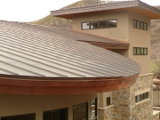 Copper Fascia Roof