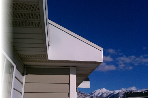 House with Soffit